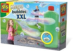 SES Creative Bubbles XXL-Soplador de Mega Burbujas SES, Multicolor (02252)