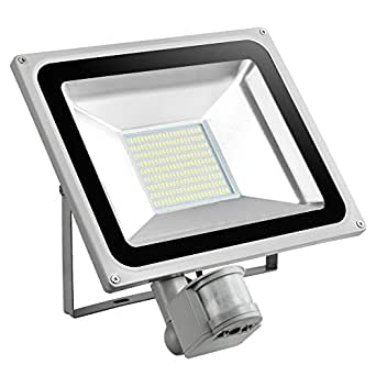100w ip65 etanche projecteur led exterieur avec detecteur. Black Bedroom Furniture Sets. Home Design Ideas