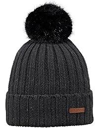 Amazon.co.uk  Barts - Black   Hats   Caps   Accessories  Clothing 2cbb1bde900