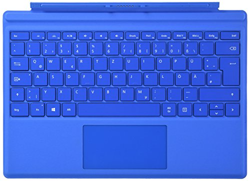 Microsoft Surface Pro 4 Type Cover hellblau