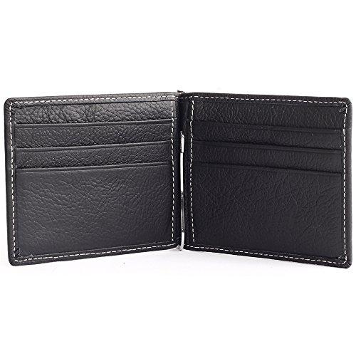 Boshiho ,  Herren Herren-Geldbörse schwarz (Wallet Gucci Card)