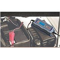 CARGADOR DE BATERIAS DE COCHE MOTO BARCO 6V 12V AUTOMATICO CON PANTALLA LCD 4 PROGRAMAS HASTA 120AH