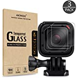 (Pack Of 3) Tempered Glass Screen Protector For Gopro Hero 4 Session Hero 5 Session