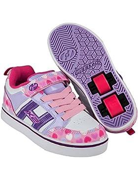 Heelys - Zapatillas de skateboarding de Material Sintético para niña