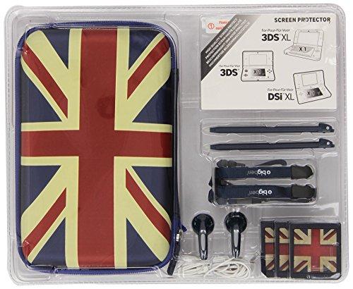 "Nintendo 3DS / 3DS XL / new 3DS XL / DSi XL - Essential Pack XL ""UK"" (farblich sortiert)"
