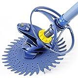 Zodiac Robot Nettoyeur de Piscine Hydraulique, Fond Seul, Pour Piscines 9 x 5 m Maximum, Aspiration à Diaphragme, T3, Bleu, W70674