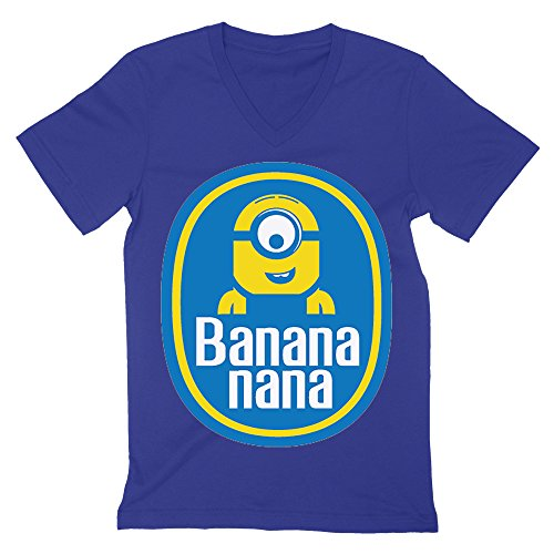 despicable-me-chiquita-bananas-inspired-minion-funny-logo-mens-v-neck-t-shirt-xx-large