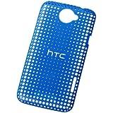HTC HC-C704B Coque rigide pour HTC One X Bleu