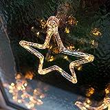 LED Stern Fensterdeko Weihnachtsdeko Timer Batteriebetrieb Lights4fun für LED Stern Fensterdeko Weihnachtsdeko Timer Batteriebetrieb Lights4fun