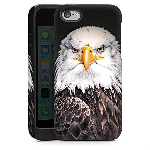 Apple iPhone 5s Housse Étui Protection Coque Aigle Aigle Oiseau Cas Tough brillant