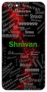 Shravan (A Hindu Month; The Devoted Son (From Ramayan)) Name & Sign Printed All over customize & Personalized!! Protective back cover for your Smart Phone : Sony Xperia XA Ultra