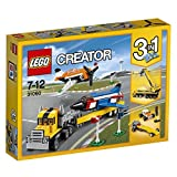 Lego Creator Airshow Aces 31060 Plastic Model Kit, Multi Color