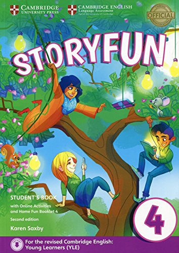Storyfun for Movers Level 4 Student's Book with Online Activities and Home Fun Booklet 4 Second Edition por Karen Saxby
