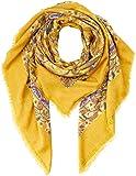 s.Oliver Damen Trilby 39.809.91.4645, Gelb (Yellow AOP 15a2), One Size (Herstellergröße: 1)