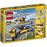 Lego Creator Airshow Aces 31060 Plastic Model Kit, Multi Color