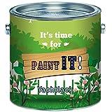 Paint IT!! langfristiger 2-Komponenten Bootslack Set für GFK, Polyester und Kunststoff Yachtlack inkl. Härter GLÄNZEND Alle RAL Töne und klarlack Bootsfarbe Yachtfarbe Lack (2,5 kg, Weiß RAL 9010)