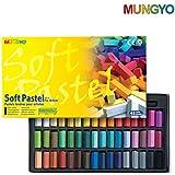 Mungyo Soft Pastels, MPS-48 For Artists Pastel Half Size Colours