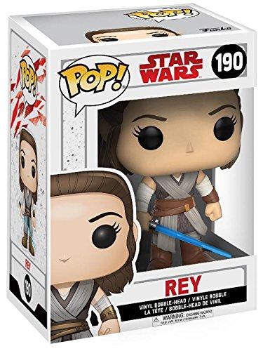 Funko Pop! - Star Wars: Los últimos Jedi - Rey