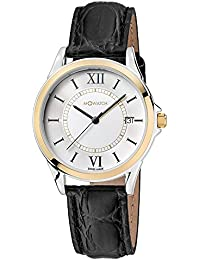 M-WATCH Timeless Elegance Analog White Dial Women's Watch-WRE.59210.LB