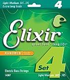 Elixir CEL 14087 Corde pour Guitare Basse nanoweb xls m 45-105