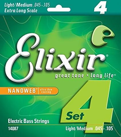 Corde Guitare Elixir - Elixir CEL 14087 Corde pour Guitare Basse