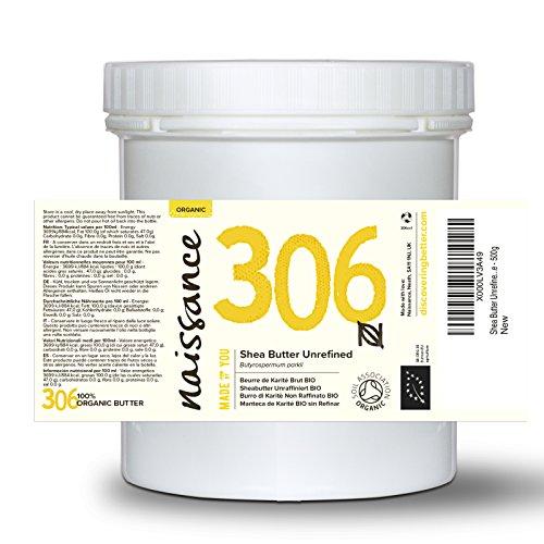 Shea Butter Unrefined Certified Organic - 100% Pure - 500g