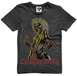 Amplified Iron Maiden Killers T-Shirt, Größe:L;Farbe:charcoal