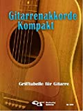 Gitarrenakkorde Kompakt: Grifftabelle für Gitarre