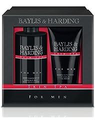 Baylis & Harding Amber & Sandalwood Grooming Duo Gift Set