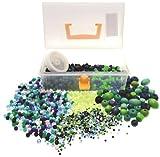 IC CI Kit de grosses perles Couleurs froides Multicolore