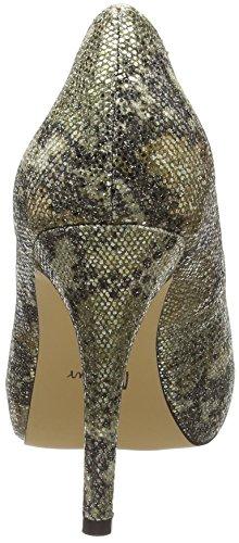 Menbur Mino, Escarpins femme Multicolore - Mehrfarbig (Gold Multi)