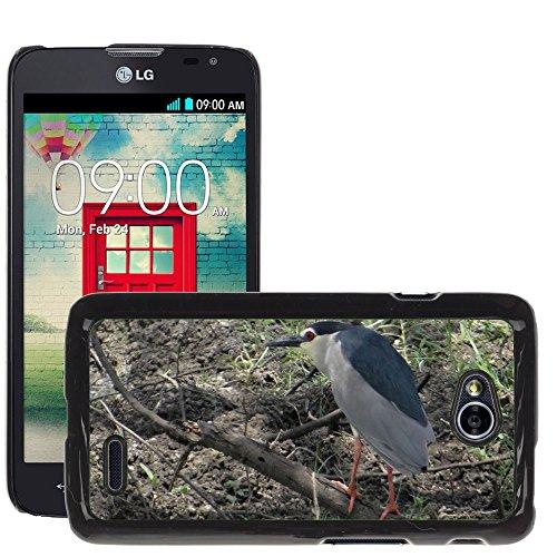 Nur Handy HOT STYLE HANDY PC Hard Case Cover//m00139198NachtReiher Heron//LG Optimus L70MS323