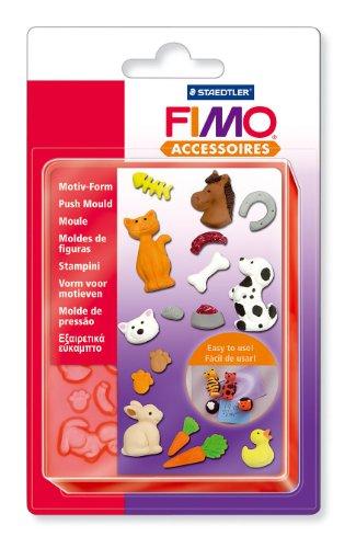Staedtler 8725 Fimo accessoires Motiv-Form, Haustiere