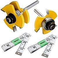 Xueliee 10pcs 1//8 pulgada de madera de trabajo Router Bit Dremel Rotary Tool Parts