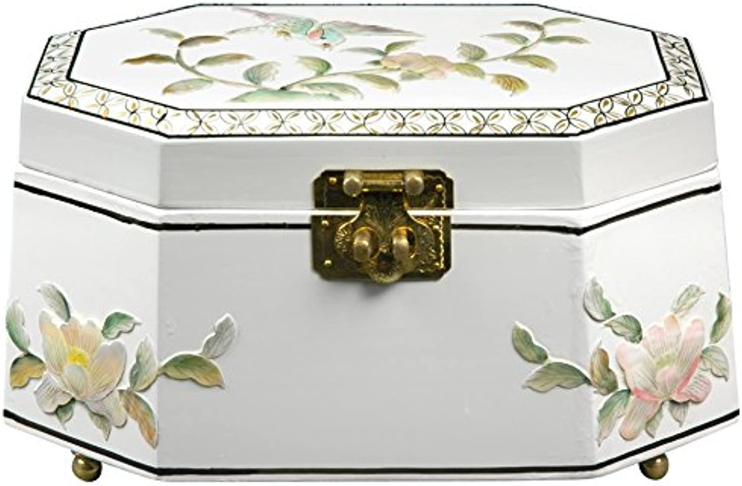 Joyero Antoinette Oriental Furniture - Blanco