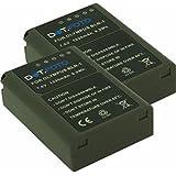 2 x Dot.Foto Batterie de qualité pour Olympus BLN-1 avec InfoChip - 7,6v / 1220mAh - garantie de 2 ans - Olympus OM-D E-M1, OM-D E-M5, OM-D E-M5 II / Pen E-P5, Pen-F