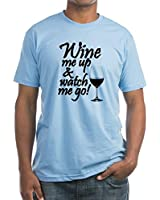 CafePress Wine Me Up Fitted T-Shirt