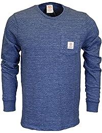 Franklin & Marshall Herren T-Shirt Blue Melange