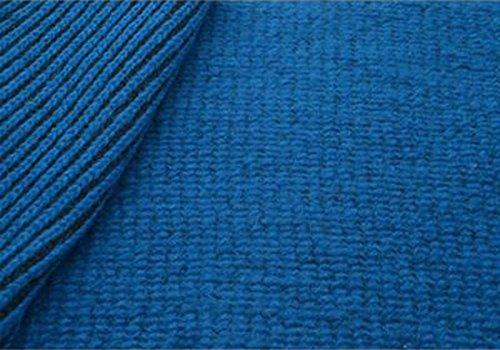 Tessuti Italiani on Line Tessuto Lana Cotta lavorata colore Azzurro