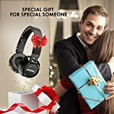 from Mpow Mpow Bluetooth Headphones Wireless Mpow CVC 6.0 Noise Cancelling Over Ear Headphones Dual 40mm Drivers Hi-Fi Stereo Foldable Wireless Headphones with Microphone Support Hands-Free Calling for PC/ Cell Phones/ TV ( Wireless and Wired Mode ) Model PAMPBH036AB-ESAE1-V