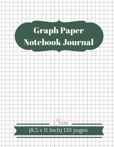 Graph Paper Notebook Journal : 1/4