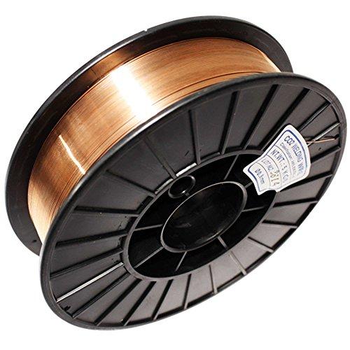 Arebos® Schutzgas Schweißdraht SG2 5 Kg Rolle ø 0,8 mm
