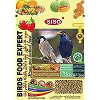 JAINSONS PET PRODUCTS Padmashri Birds Food Expert for Myna and Bulbul 500 g - الطعام الخاص بطائر البلبل والمينا 500 جم