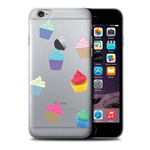 Stuff4 Hülle / Case für Apple iPhone 6+/Plus 5.5 / Pizza Muster / Stück Lebensmittel Kollektion Cupcake