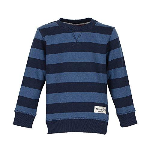Striped - Jungen Sweatshirt aus 100% Bio-Baumwolle (navy-blue)