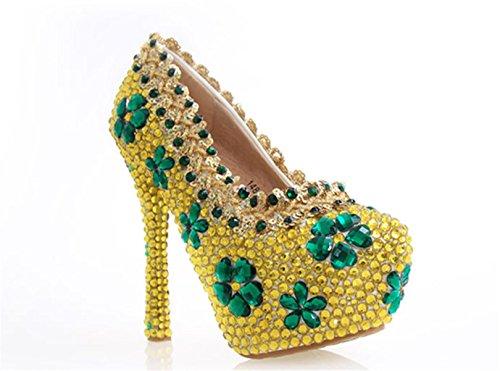 GZD-Women-Gold-Banquet-Pearl-High-Heels-Shoes-Stiletto-3d-Flowers-Rhinestone-Bling-Wedding-Party-Club-Bride-Bridesmaid