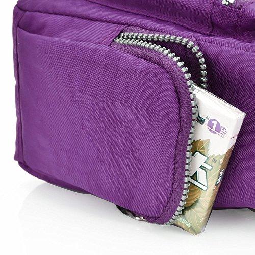 Moonbuy ,  Damen Tasche Violett