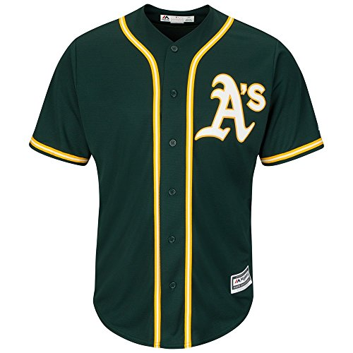 Majestic Oakland Athletics Cool Base MLB Jersey Alternate Green S acbb64886