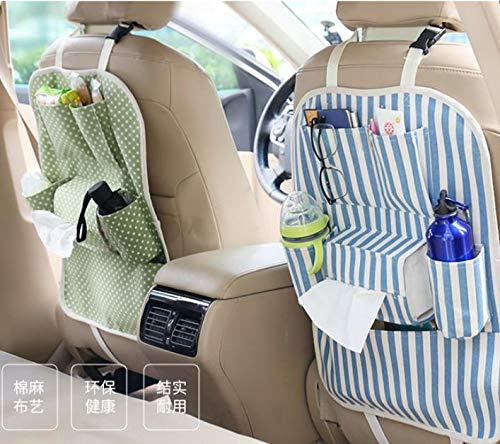Niya Soft Auto Aufbewahrungstasche Sitztasche Auto Aufbewahrungstasche Autositz zurück Aufbewahrungstasche Multifunktions Kleinigkeiten Bequemlichkeit Tasche Farbe zufällig 1St -