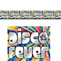 Wand-banner Disco-fever von AMSCAN
